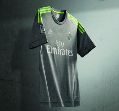 Les nouveaux maillots du Real Madrid 2015-2016 dévoilés