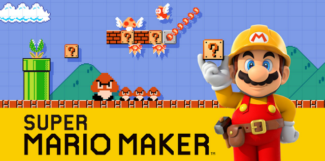 ¡Crea fondos de pantalla personalizados de Super Mario Maker! 1
