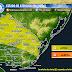 AVISO | Prob. tormentas fuertes al N del Rio Negro y NE (Mie 23/9 - AM Jue 24/9)