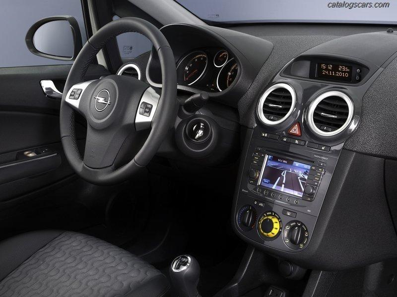 صور سيارة اوبل كورسا 2013 - اجمل خلفيات صور عربية اوبل كورسا 2013 - Opel Corsa Photos