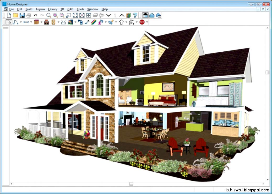 Home design professional software this wallpapers for Easy house design software