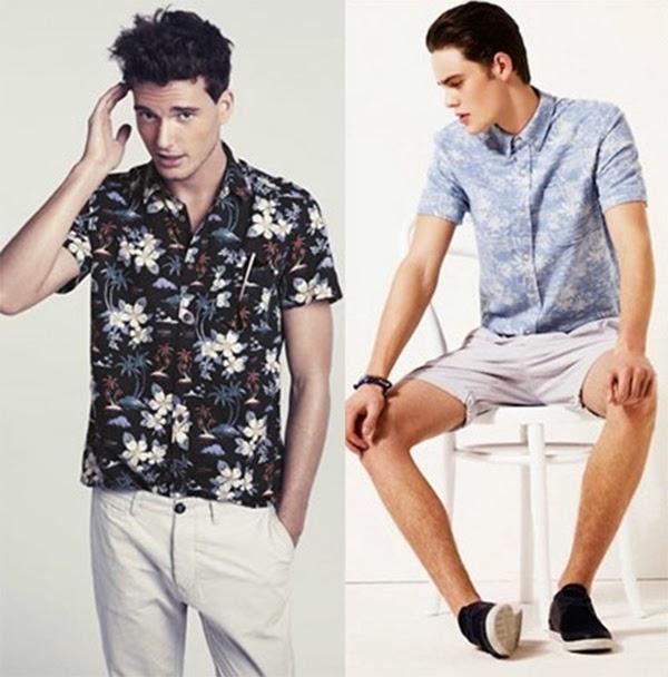 Resultado de imagem para camisa tropical masculina