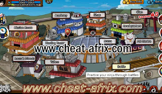 Cheat Leveling Ninja Saga FIX Juli 2013