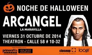 Noche de Halloween con Arcangel