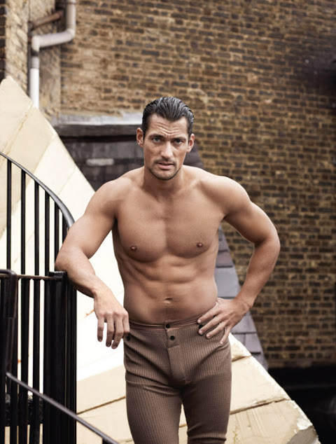 David Gandy by Paul Wetherell for 10 Men Magazine