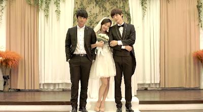 K.Will Please Don't Dasom Jaehyun Seo In-guk wedding photo threesome