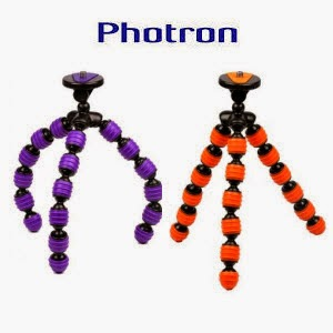 Buy Photron Spider Pod Flexible Compact Tripod for Rs.299 at Flipkart: Buytoearn