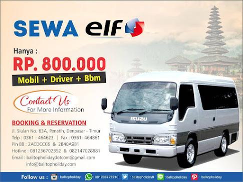 Sewa Mobil -Driver -Tour di Bali