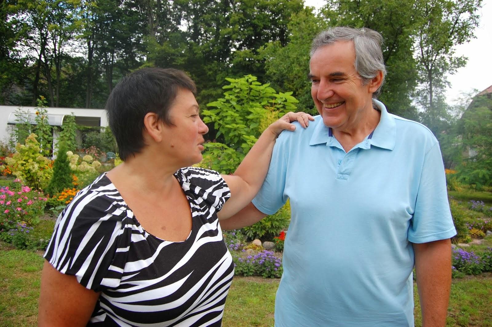 Ja z moim mężem Bogusławem