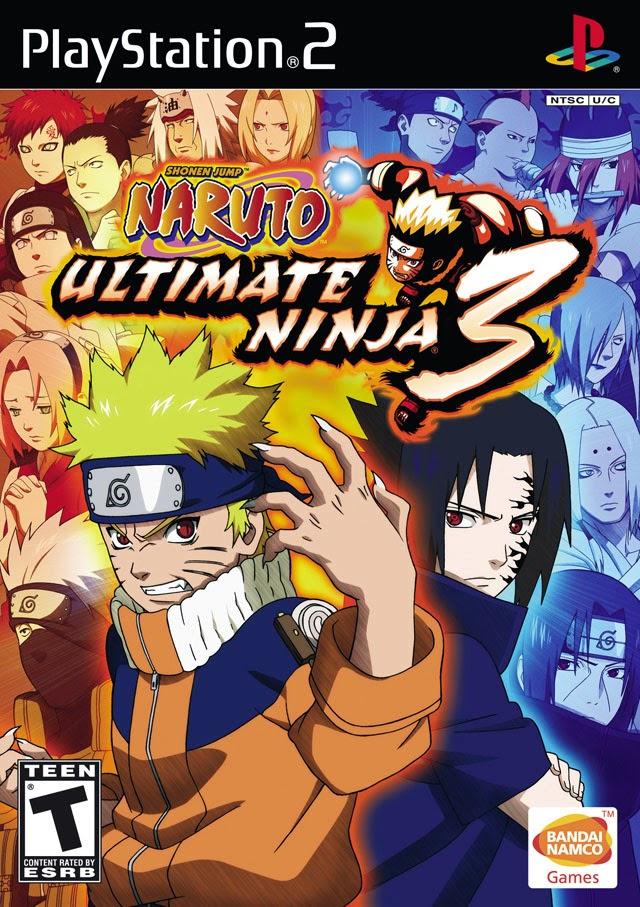Naruto - Ultimate Ninja 3 PS2 Iso www.juegosparaplaystation.com
