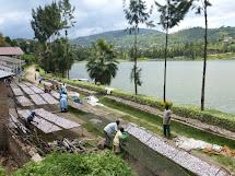 Budget Travel In Rwanda. Lake Kivu