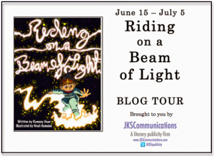 Virtual Book Tour for Ramsey Dean's and Noah Hamdan's Riding on a Beam of Light