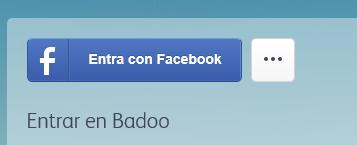 Como iniciar sesion Badoo con Facebook