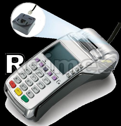 Maquina de Cartao de Credito Com Fio Fixa Pessoa Fisica CPF