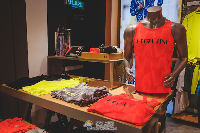 Under Armour Brand Outlet in Mid Valley Megamall - Runners Category