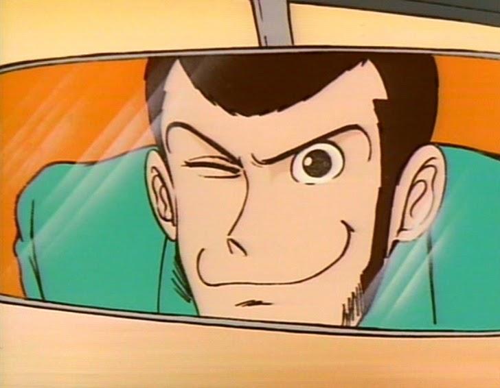 Lupin III prima puntata giacca verde