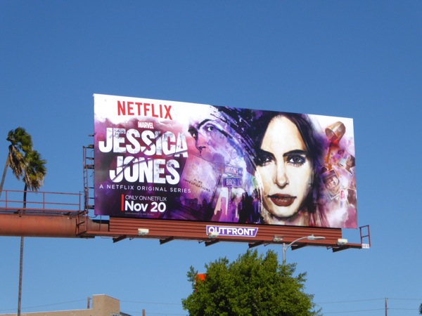 Jessica Jones season 1 billboard