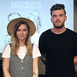 BROODS Georgia and Caleb Nott playing at Lollapalooza today!