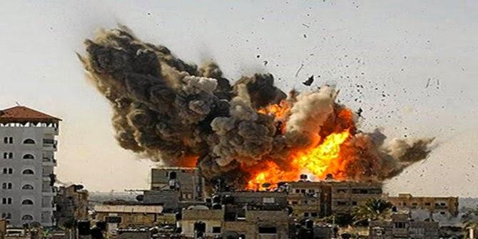 Jalur Gaza dibombardir Israel