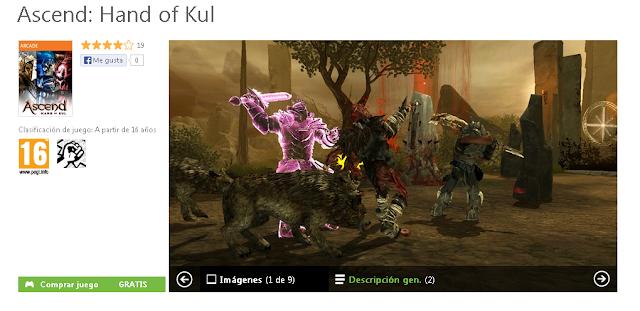 Nuevo juego gratis, Free2Play, para los usuarios Gold de Xbox Live