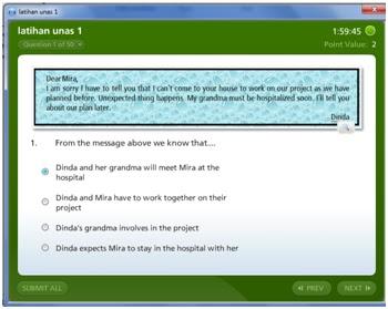 Latihan Soal Ujian Nasional Bahasa Inggris Giri Widodo