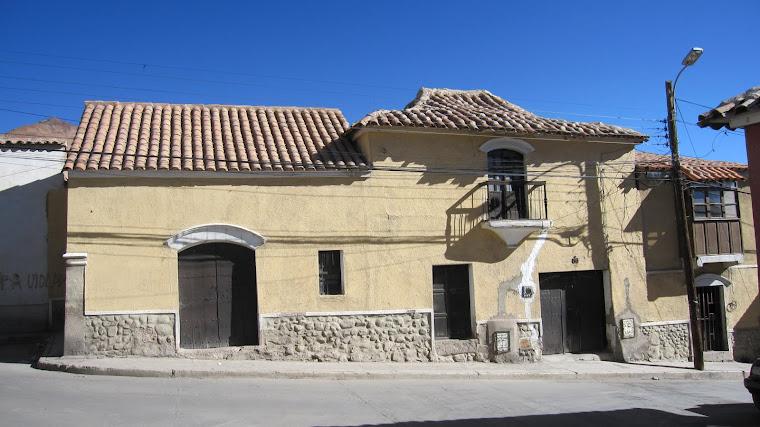 Fachada típica colonial