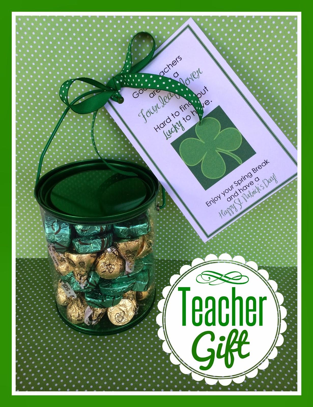 Marci Coombs St Patricks Day Teacher Gift