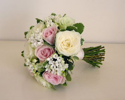 Classic bridal bouquet of