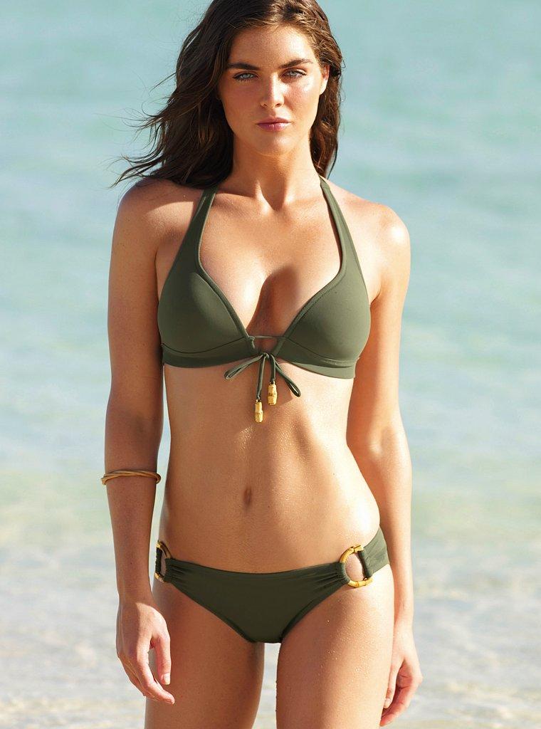 Celebrity Press Hilary Rhoda Victoria S Secret Swimsuit
