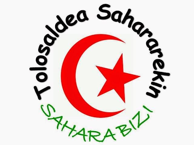 Concentración en Tolosaldea en repudio a la muerte de Hassanna Luali y por la libertad de los presos políticos saharauis