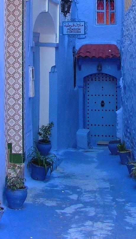 Chefchaouen and its blue houses and tight streets