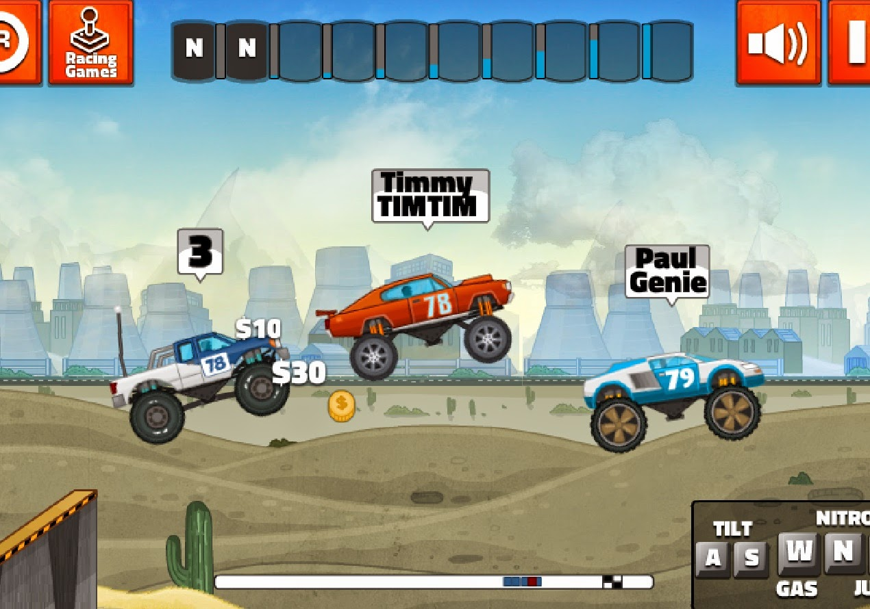 Turbo nitro truck games - Perfect truck games