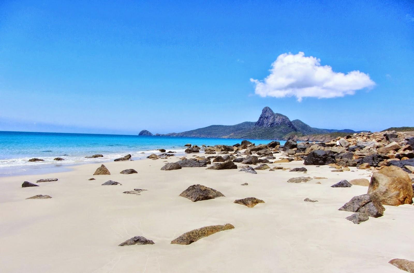 hình ảnh bãi biển độc nhất