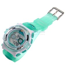 310 Multifunctional 50M Waterproof Children Sports Wrist Watch with Alarm Calendar Plastic Wristband Color Optional