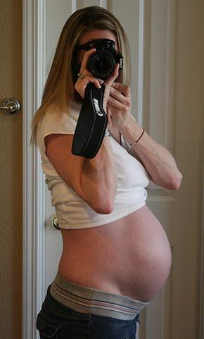 32 semanas de embarazo y cansado