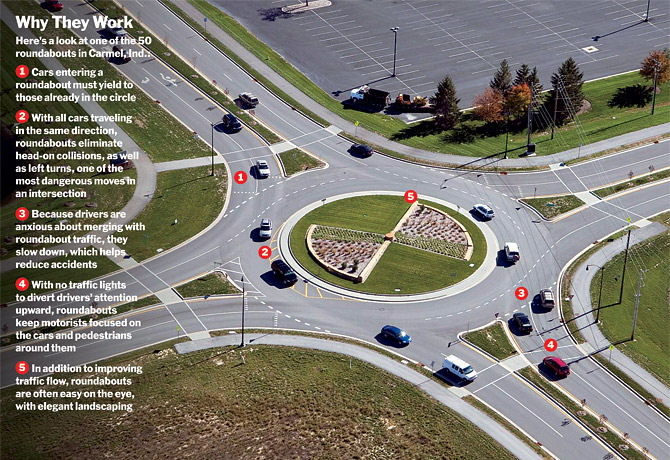 In 1 2 Years A Roundabout May Replace Lights At Orange