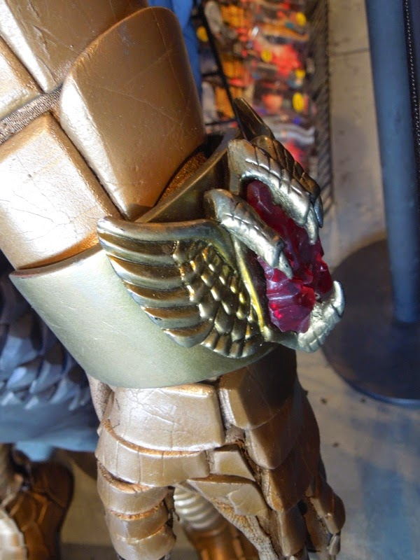 Birdman costume glove detail
