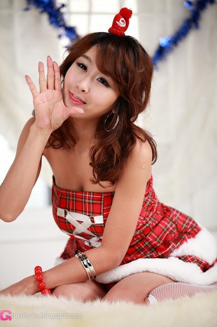 4 Santa Seo Yoon Ah-very cute asian girl-girlcute4u.blogspot.com