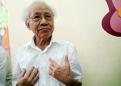 GS. Hồ Ngọc Đại, ảnh Xuân Trung