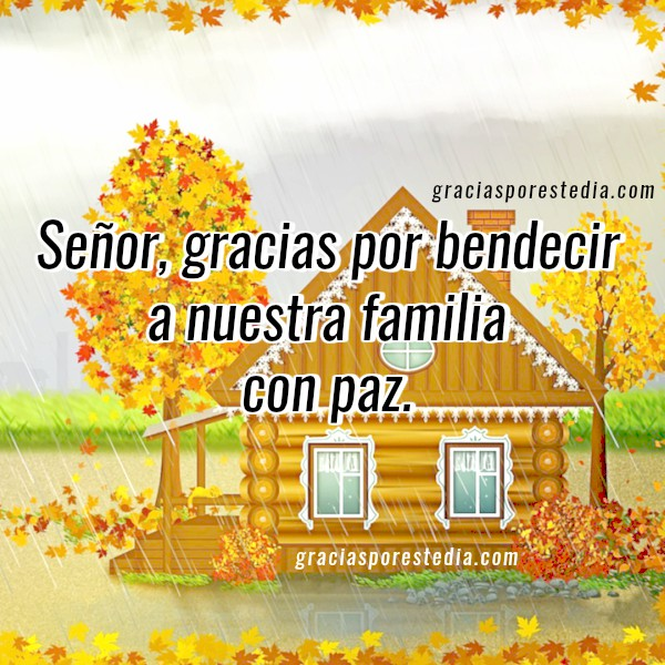 Oración corta de acción de gracias. Oraciones de familia para dar Gracias a Dios por bendiciones. Mensaje cristiano de agradecimiento por el hogar, mi casa, mis hijos, mi pareja, esposo por Mery Bracho.
