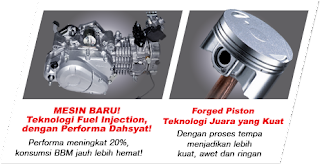Teknologi Motor Balap All New Jupiter Z1