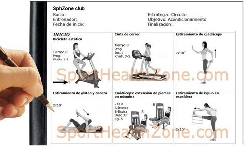 Entrenamiento fitness tabla de ejercicios for Tabla de ejercicios para adelgazar