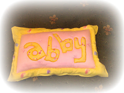personalized cushion pillow