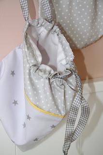 bolsa merienda personalizada babero