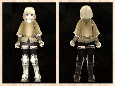 冒険者の服・白3・重量化