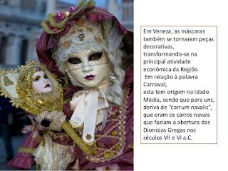 primeira máscara de carnaval