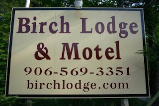 Birch Lodge New Sign