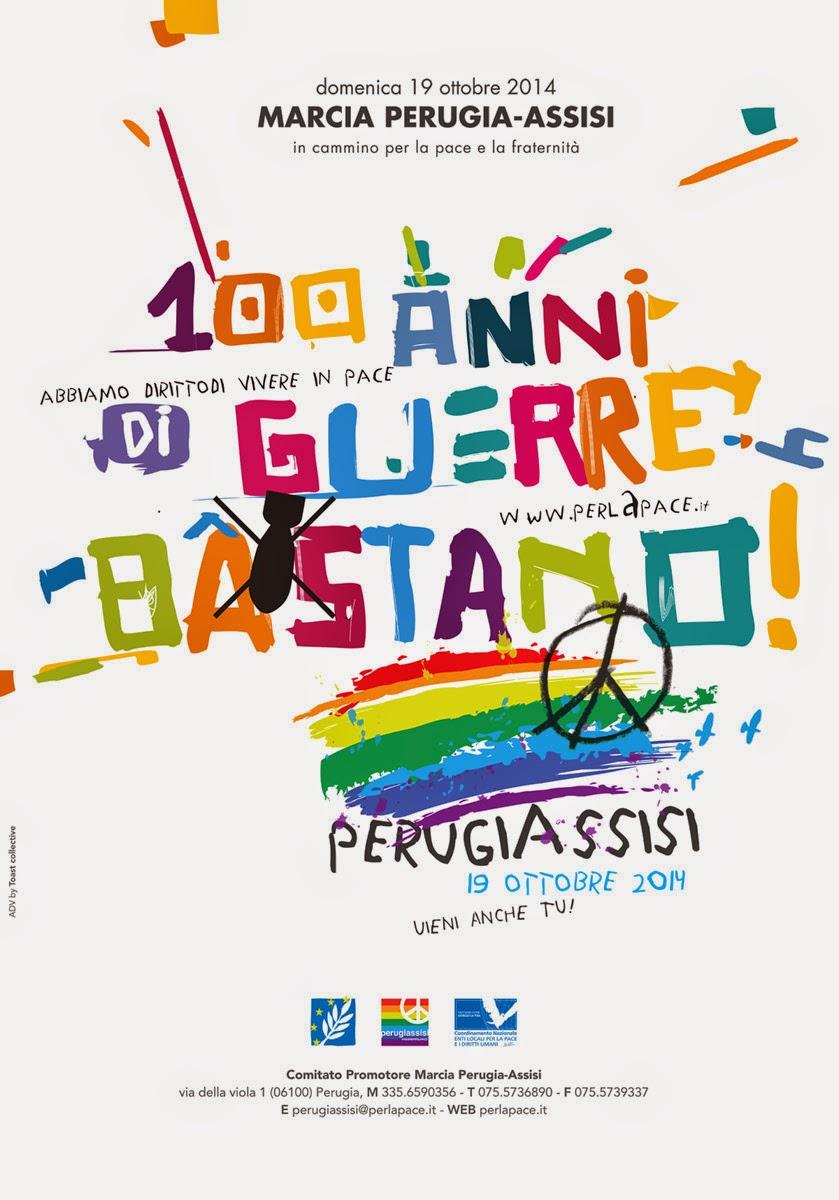 19 ottobre - Fatti Mail aderisce alla MARCIA PER LA PACE PERUGIA-ASSISI - clicca sull'immagine