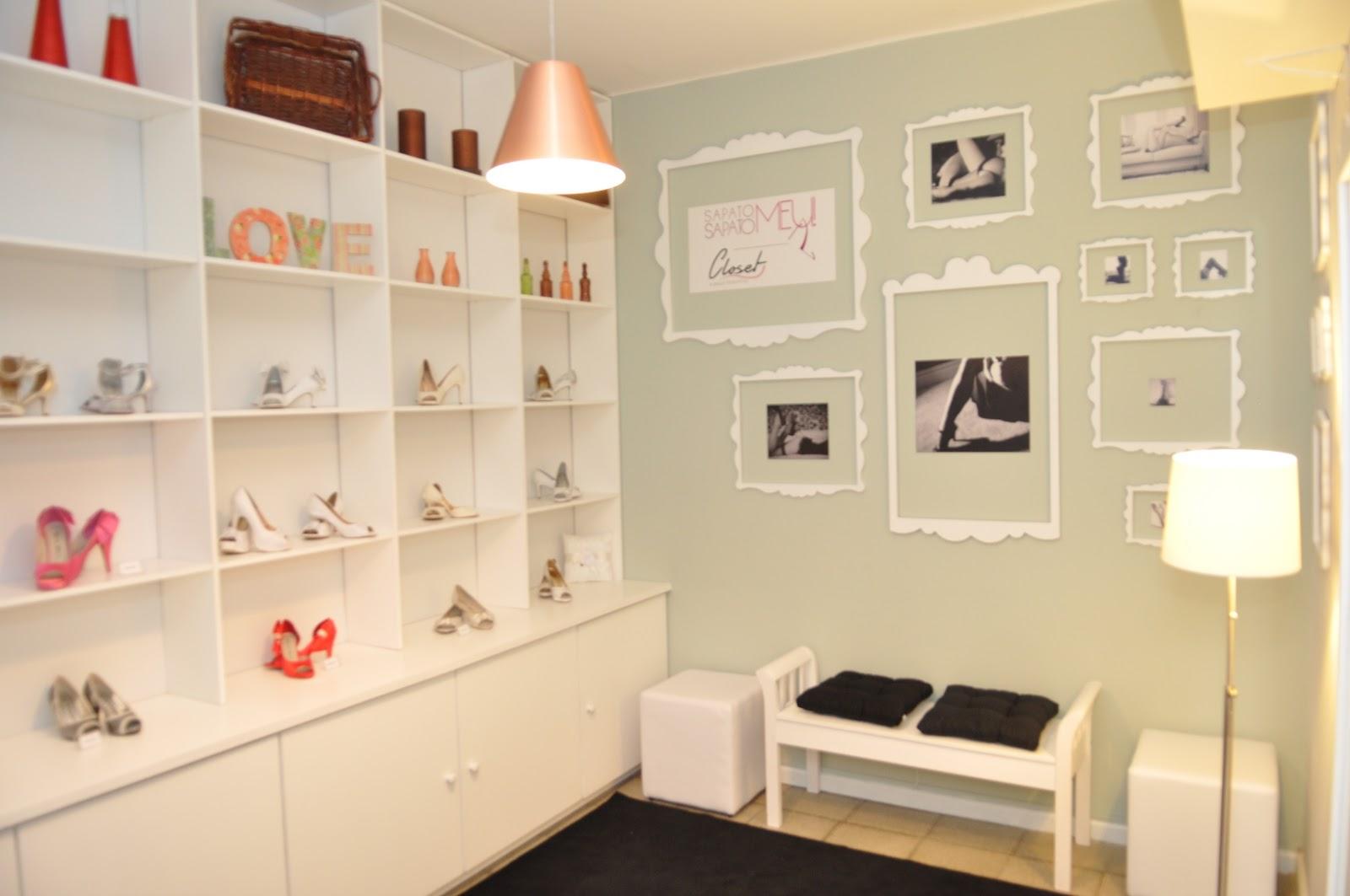 Ideias para decorar seu closet mariana ara jo for Modelos de zapateras para closets