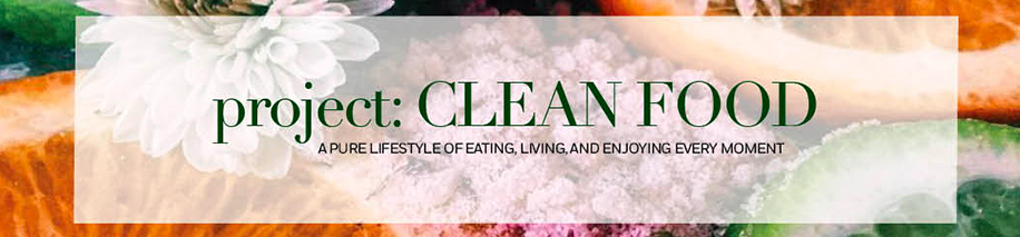project: CLEAN FOOD